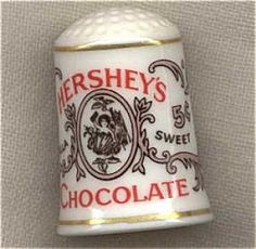 HERSHEY'S CHOCOLATE COUNTRY STORE THIMBLE FRANKLIN