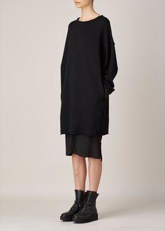 y's by yohji yamamoto, layered pullover.