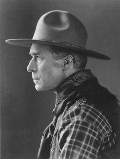 William S. Hart | wonderful image of william s hart silent movie cowboy star