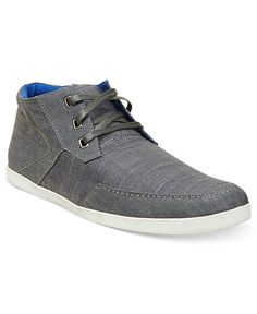 Steve Madden Men's Shoes, Grecko Canvas Sneakers