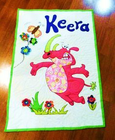 Wall Hanging for Keera. My Sewing Room, Quilted Wall Hangings, Quilting, How To Make, Scrappy Quilts, Fabric, Scraps Quilt, Patchwork, Quilling Art