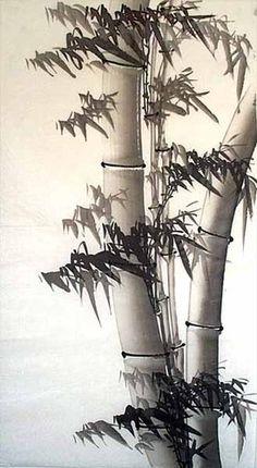 100 Hand Painted Chinese Painting Ink Brush Flourish Bamboo | eBay