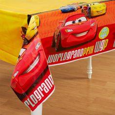 Hallmark - Disney Cars 2 Plastic Tablecover - Standard Hallmark http://www.amazon.com/dp/B0050OXY1I/ref=cm_sw_r_pi_dp_yyN5tb1RKXRGJ