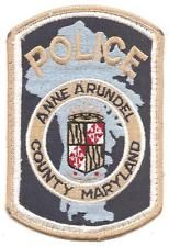 Anne Arundel County Police, Maryland patch