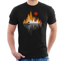 0dde0415 Deer Lands Men's T-Shirt by RocketMan - Cloud City 7 Cloud City, Pet