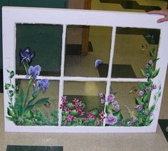 Painted Window, I love these!