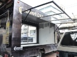 The Mother of all lift doors Mobile Cafe, Resume Writing Services, Best Resume, Food Trucks, Pop Up Stores, Business Planning, Doors, Shop Plans, Food Carts