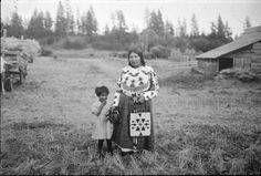 Agnes Williams and her daughter - Spokane - 1922