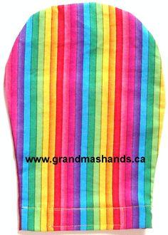 Striped Ostomy Bag Cover