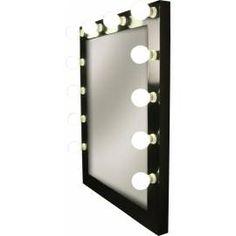 espejo de maquillaje deluxe luces