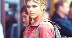 Alexandra Daddario as Annabeth Chase, a demi-god, the daughter of Athena. Athena is the Goddess of Philosophy, Wisdom & Battle Strategy. Athena is the daughter of Zeus. That makes Annabeth the grand-demi-god daughter of Zeus. Her performance in this role is remarkable. Alexandra has the potential of representing Wonder Woman due to her physique, vocal, looks and demi-god acting career in Percy Jackson franchise.