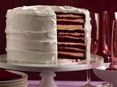 Red velvet cake is the classic Southern beauty that has taken over the dessert world. Make your own at home with our easy red velvet cake, cookies, brownies and cupcakes recipes. Cakes To Make, How To Stack Cakes, Cakes And More, How To Make Cake, Cupcakes, Cupcake Cakes, Marshmallow Creme, Marshmallow Frosting, Homemade Frosting