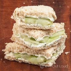 Cucumber Lemon Sandwiches