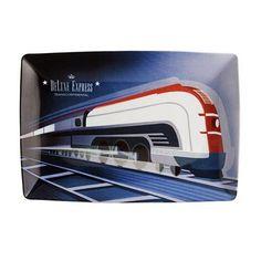 Transcontinental Deluxe Express Rectangular Plate by Vista Alegre