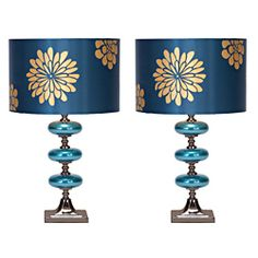 Casa Cortes Costa Azul 23-inch Table Lamps (Set of 2) | Overstock.com Shopping - The Best Deals on Table Lamps