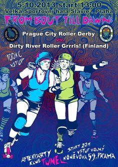 PCRD vs. Dirty River Roller Grrrls