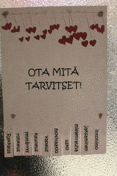 Finnish Language, Diy And Crafts, Crafts For Kids, Happy People, Birthday Cards, Mindfulness, Classroom, Wisdom, Activities