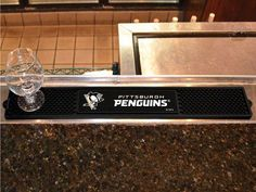 The Pittsburgh Penguins Drink and Bar Mat
