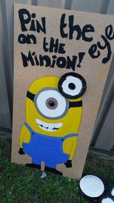 Pin the eye on the minion