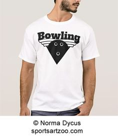Bowling Triangle Shield T-Shirt by #SportsArtZoo #bowling #t-shirt Bowling  sc 1 st  Pinterest & 18 Best Gift Ideas for Bowling Lovers images | Bowling ball Bowling ...