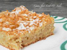 Gutes für Leib & Seele: Schneller Apfelkuchen vom Blech