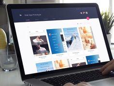 Why you should be using invision in your web design process Game Design, App Ui Design, User Interface Design, Dashboard Design, Design Websites, Ui Kit, Mobile Ux, Google Material Design, Mobile Web Design