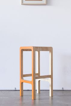 Chairs designed and built by Elo Silo. Simple Furniture, Plywood Furniture, Diy Furniture, Furniture Design, Furniture Market, Painted Wooden Chairs, Chair Design Wooden, Cnc, Patio Chair Cushions