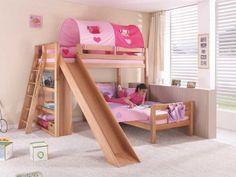 Patrová postel buková Wendy 10 90x200cm