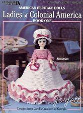 Ladies of Colonial America Book 1 crochet patterns OOP new