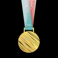 The medals awarded at next year's Winter Olympics in South Korea will feature diagonal ridges formed from extrusions of the country's alphabet. Olympic Winners, Korean Alphabet, 2018 Winter Olympics, Olympic Gold Medals, Winter Games, Olympic Games, South Korea, Bronze, Silver