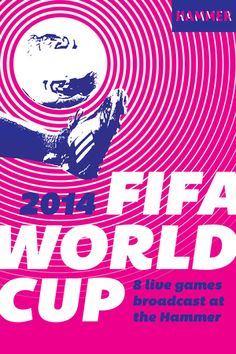 June 28-July 13, 2014--FIFA 2014 World Cup Live Broadcast. The Hammer presents eight live screenings of the FIFA 2014 World Cup matches in the Hammer courtyard and Annex.