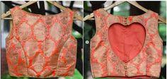 55 Latest Pattu saree blouse back neck designs Brocade Blouse Designs, Simple Blouse Designs, Brocade Blouses, Stylish Blouse Design, Blouse Back Neck Designs, Choli Designs, Saree Blouse Patterns, Designer Blouse Patterns, Saree Blouse Designs