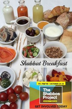 Have you signed up for the Shabbos Project? Get some breakfast ideas!! #KeepingItTogether