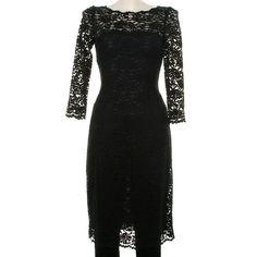 black lace dress-Knitting Gallery