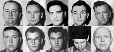 The men responsible for the murders of the 3 civil rights workers (James Chaney, Andrew Goodman, Michael Schwerner).