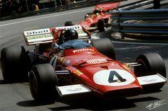 1971 GP Hiszpanii (Jacky Ickx) Ferrari 312B