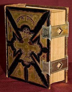 Beautiful Vintage Family Bible