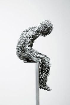 marco cingolani wire sculpture