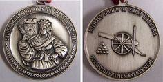 St. Barbara. The Patron Saint of the Royal Artillery.