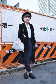 [STREET SNAP]KYOKO   日本美容専門学校   ストリートスナップ   東京(原宿)  