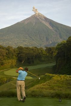 Fuego Maya Golf Course, Antigua Guatemala Our Residential Golf Lessons are for beginners,Intermediate & advanced . Our PGA professionals teach all our courses in a incredibly easy way to learn and offers lasting results at Golf School GB www.residentialgolflessons.com
