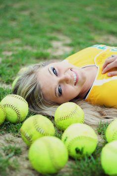 Senior Softball photography