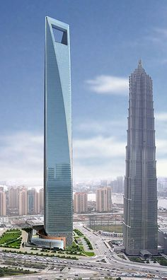 se trata del tercer edificio ms alto del mundo est situado en shangai su
