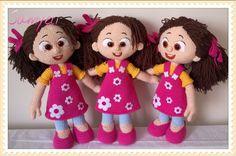 Niloya Samyeli amigurumi pattern.oyuncak bebek