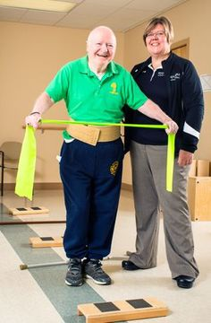 Stretching Parkinson's Boundaries: Early physical therapy brings drastic improvements.