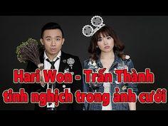 Tin Nhanh - Hari Won - Trấn Thành tinh nghịch trong ảnh cưới