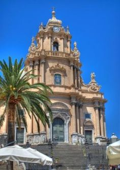 Baroque church in Ragusa Ibla, Sicily. Our trip for 2014 will be Sicily!