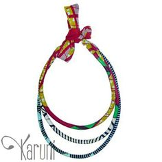 Toubab Paris - Collier en wax - african wax fabric necklace