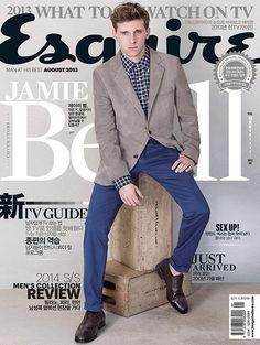 Jamie Bell para Esquire Korea, Agosto 2013