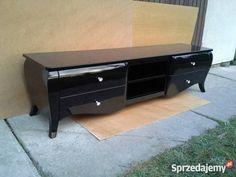 Szafka RTV Classic, stolik, szafka, 4 szuflady, półki, stylowa, glamour